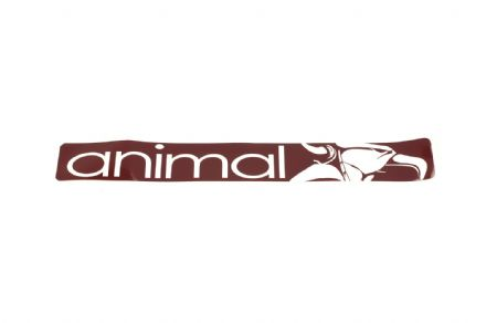 Animal Ramp Sticker Red